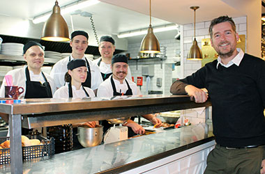 James Weeks, Owner of The Dial Restaurant