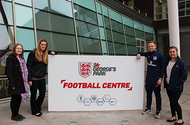 Holly Murdoch, St. George's Park General Manager